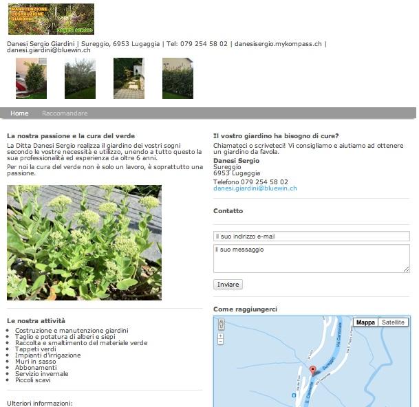 Giardiniere, costruzione e manutenzione giardini, taglio e potatura di alberi e siepi, tappeti verdi, servizio invernale, Lugaggia