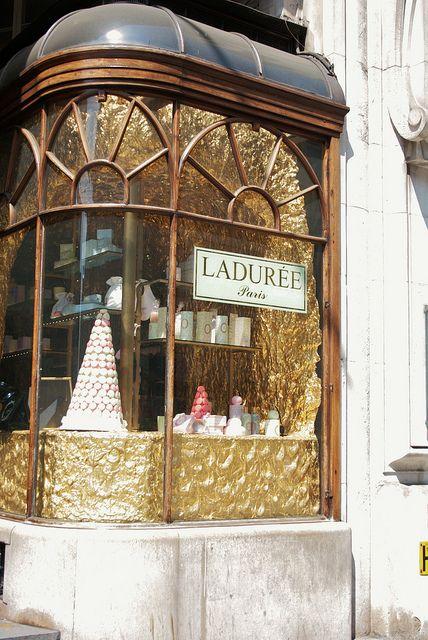 Laduree London - often on my list of London places to pop into!