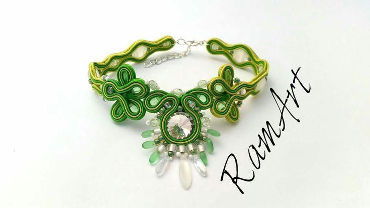 Bransoletka sutasz na kostkę. Powiew lata :-D  #ramart #bransoletka #bracelet #handmade #forsale #sutasz #soutache #niezchinzpasji #rękodzieło