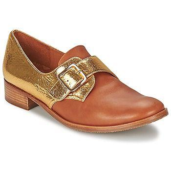 DURUI Gold / Camel: Dieses Modell setzt sich durch seine modische goldene Farbe und seinen Schaft aus Leder in Szene.Mit einer Sohle aus Leder.Einfach toll!