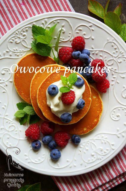 Kulinarne przygody Gatity: Pancakes z owocami