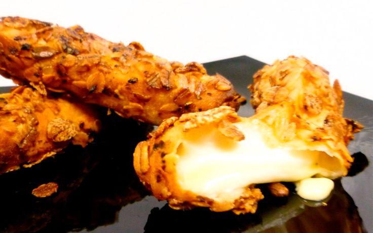 Palitos de mozzarella al horno, cenas más ligeras - Recetín    En dura competencia con mis riquisimos tequeños