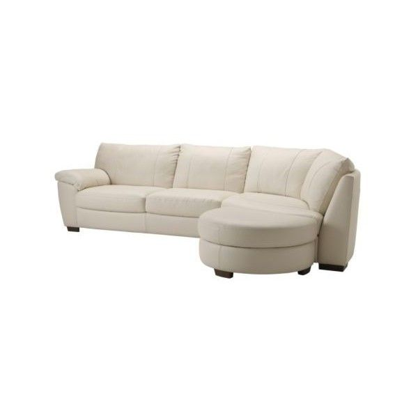 Ikea Vreta Corner Sofa With End Unit Right Mjuk Ivory 1 749 Liked On Polyvore Featuring Home Furniture Sofas House Interior