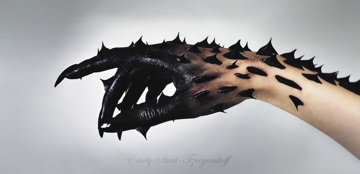 Deranged by emily92896.deviantart.com on @DeviantArt Dragon arm for humans