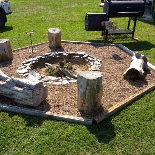 how to make a fire in a bbq pit