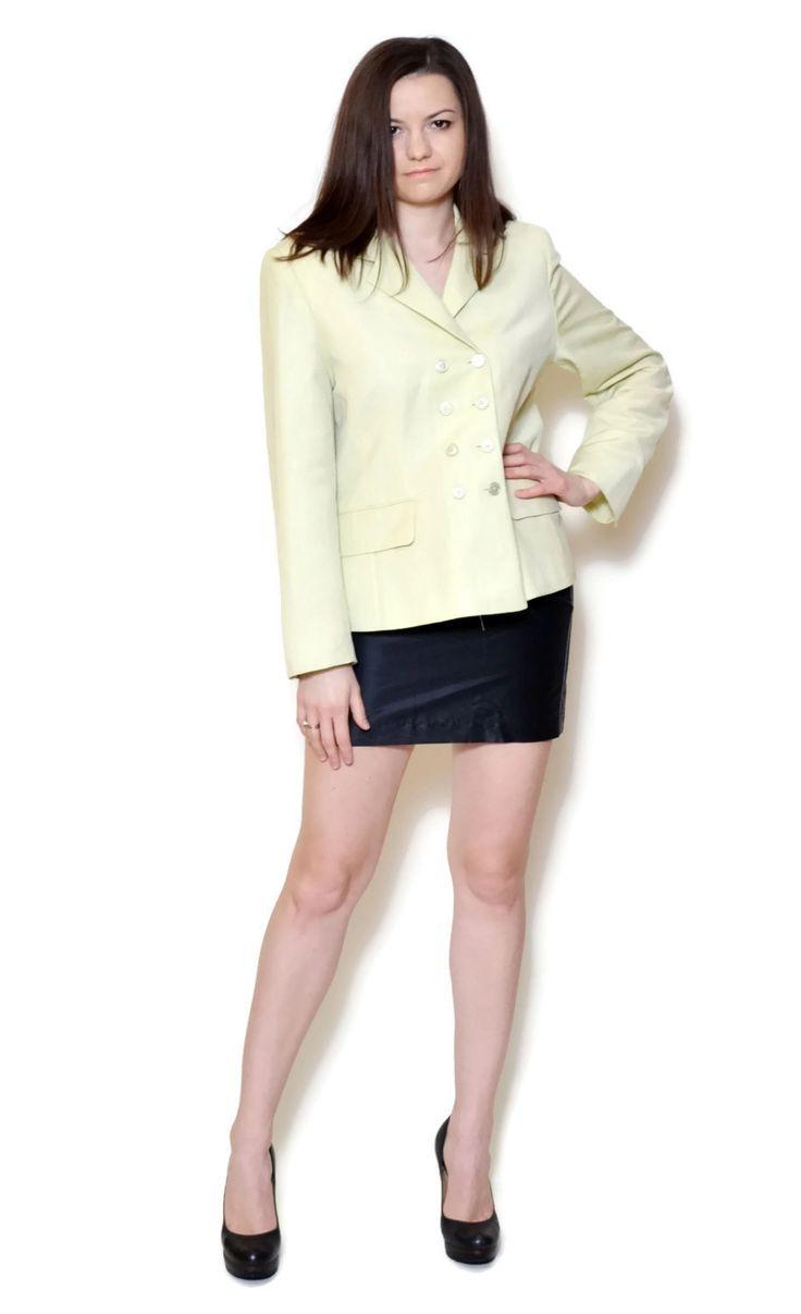 light green blazer outfit US$29.95