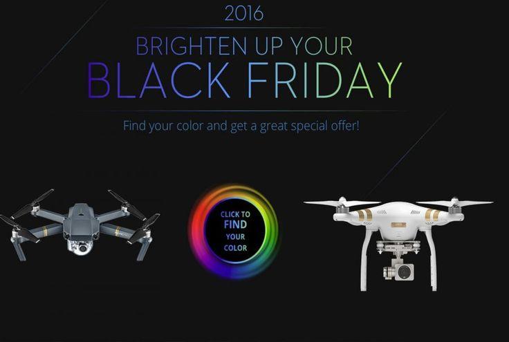[BLACK FRIDAY] Offres Spéciales dans la boutique Officielle de Drone DJI 23  Bonjour  A loccasion du Black Friday la boutique officielle du fabriquant Drone incontournable DJIpropose des offres spéciales sur cesDrones et accessoires.  Le Phantom 3 sera disponible à partir de 499 dans sa version standard et à 899 dans sa version Pro le Phantom 4 à 1199et en version Proà 1699 le Mavic Pro à 1199 et le Inspire 2 à 3399.  En même temps la boutique propose un jeu afin davoir un cadeau surprise…