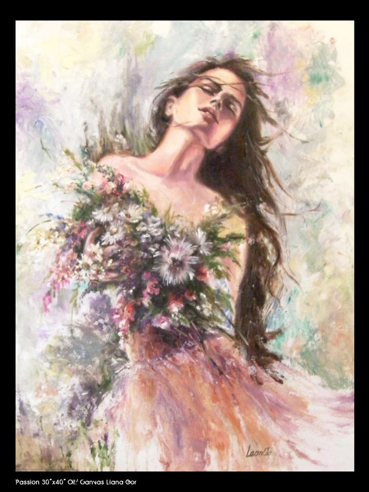 Liana Gor - Passion 40x30 - Oil on Canvas