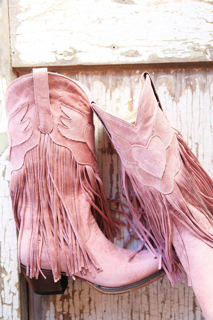 dreamer boot light pink