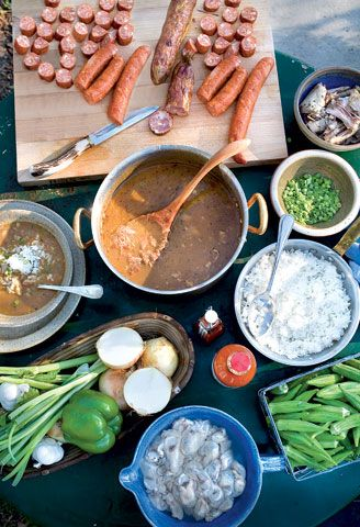 The Besh Gumbo Ever via john besh and garden and gun mag