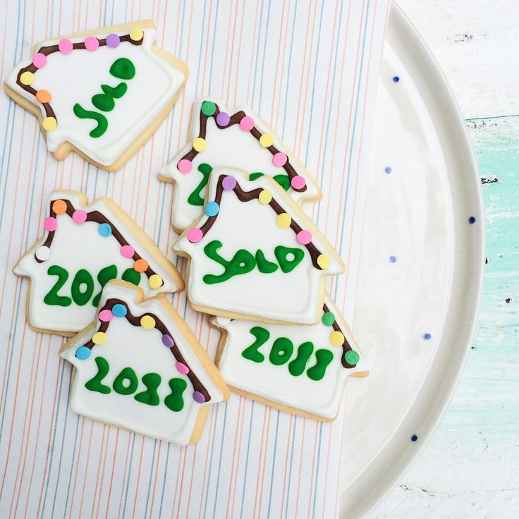 """House """"sold"""" cookies by Little Pudding"""