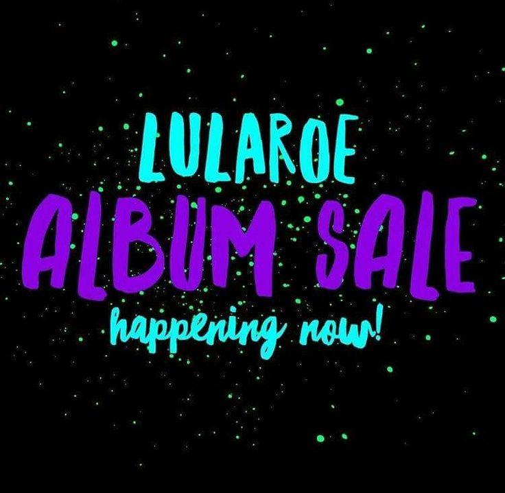 LuLaRoe Album Sale happening now! New Consultant with fresh inventory!! LuLaRoe Leona Dixon https://www.facebook.com/groups/lularoeleonadixon/