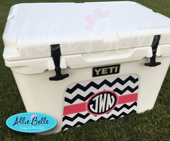 Yeti Tundra or Roadie  Cooler Wrap Decal.  by AllieBelleDesigns