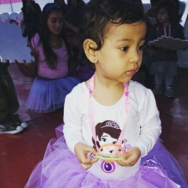 Traje de la princesita sofia