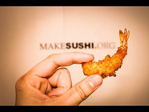 tempura prawn recipe, amazing crispy shrimp tempura for sushi rolls