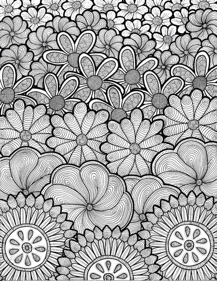 find this pin and more on artsy stuff flower type coloring page