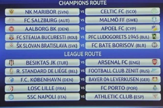 Vòng play-off Champions League mùa này hứa hẹn sẽ rất hấp dẫn, khó lường với các cặp đấu như Arsenal gặp Besiktas, Napoli gặp Athletic Bilba...  http://ole.vn/lich-phat-song-bong-da.html http://ole.vn/xem-bong-da-truc-tuyen.html http://xoso.wap.vn/ket-qua-xo-so-mien-bac-xstd.html http://www.9appsapk.com http://ole.vn/ty-le-keo-bong-da.html http://ole.vn/tin-the-thao.html