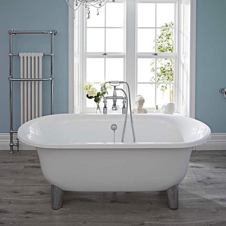 17 meilleures id es propos de baignoire sur pieds sur. Black Bedroom Furniture Sets. Home Design Ideas