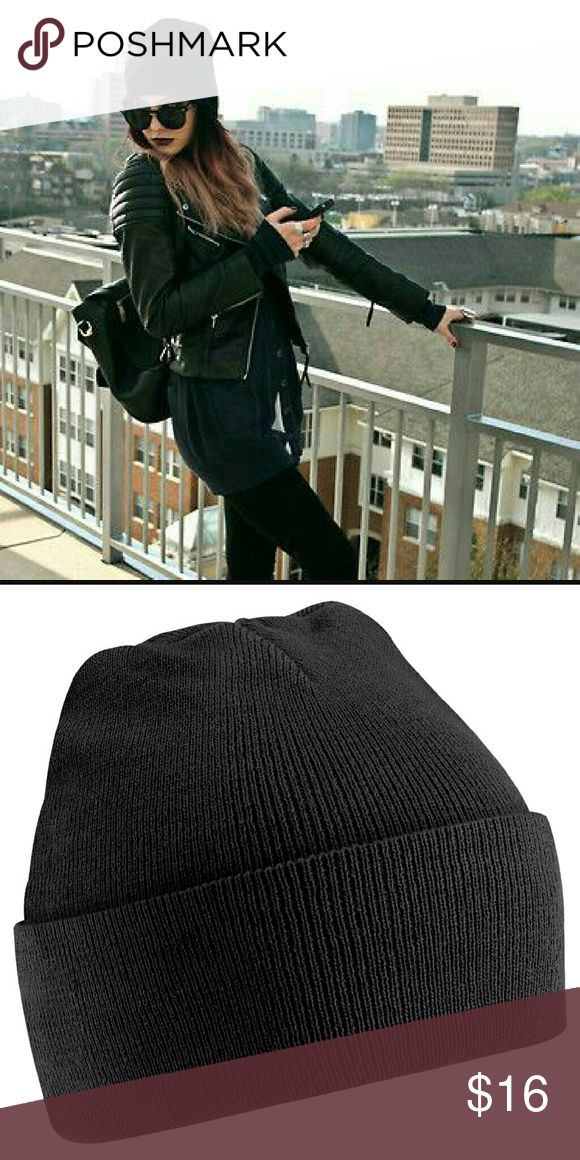 NEW Black Beanie Classic black Beanie. One size. Keep those ears warm  ladies! Boutique  Accessories Hats