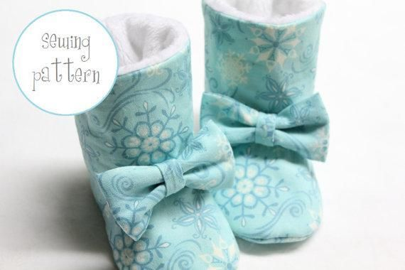 Baby Shoes - Winter ... by petitboo | Sewing Pattern - Looking for a sewing pattern for your next project? Look no further than Baby Shoes - Winter Boots from petitboo! - via @Craftsy