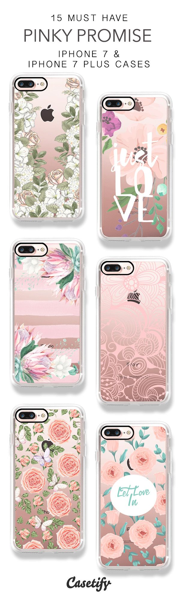 Sweet Pinky Promise. 15 Must Have Wedding and Floral iPhone 7 Cases and iPhone 7 Plus Cases here > https://www.casetify.com/artworks/PaL0YXsbTR