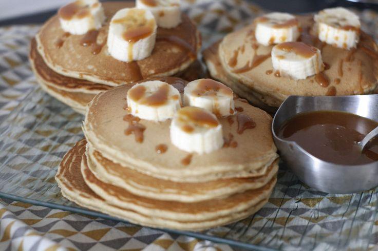 Pancakes à la farine de mil