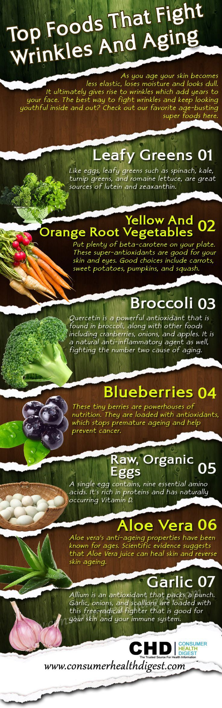 Top Foods That Fight Wrinkles and Aging (and promote an overall healthy well-being) #beautyfromtheinsideout #beauty
