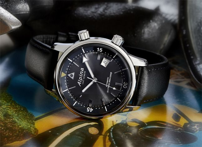 Alpina Seastrong Diver Heritage.