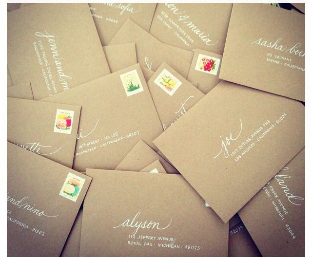 envelopes hand lettering envelopespaper envelopeswriting