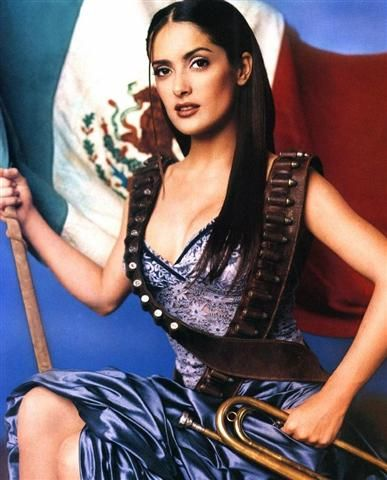 Salma Hayek | Mexican beauty, Here's the chance to do our part. Take the pledge 4 life. Pollution, Greed and Genocide rules the world, save the planet go vegan, go back 2 the future of natural living, what society and capitalism worldwide spreads evil 2 profit a few once, http://www.ninaohmanarts.com