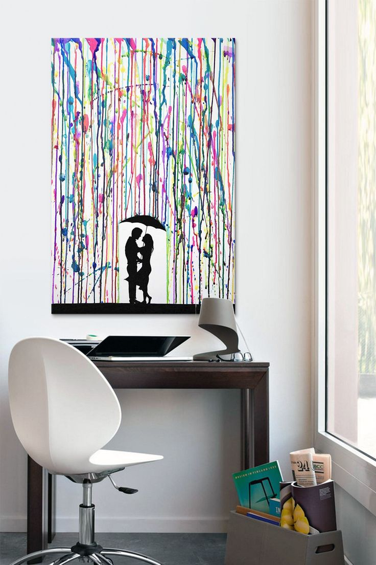 Do this but with melted crayons