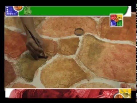 PARED DE PIEDRA TEXTURA - MANOS CREATIVAS - YouTube