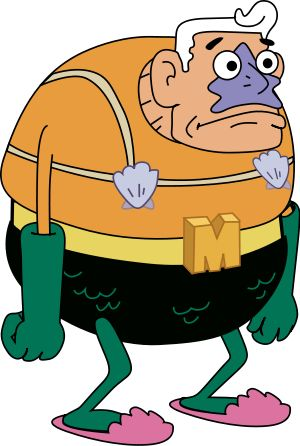 Mermaid Man! This is going to be Mikey's Halloween costume this year if we can get it together.