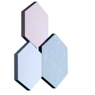 49 best images about d coration hexagonale on pinterest hexagons wall treatments and st kilda. Black Bedroom Furniture Sets. Home Design Ideas