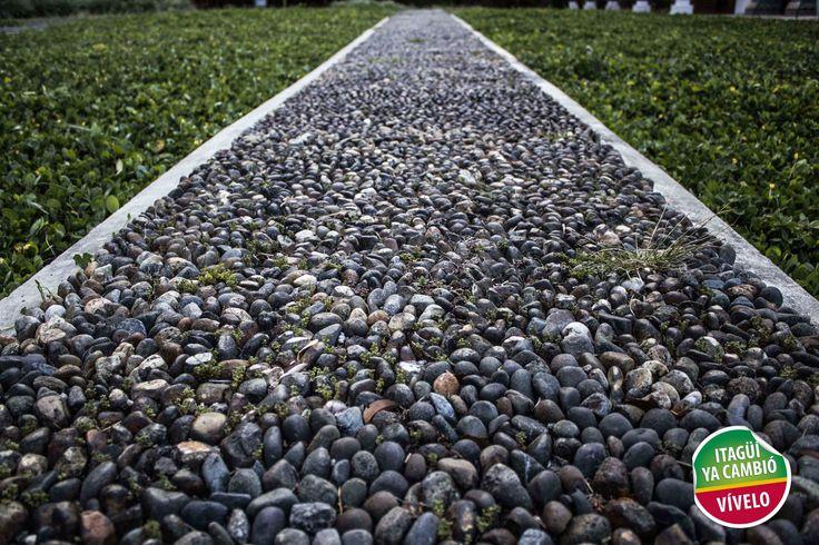 Camino en piedra Casa Museo Ditaires  de Itagüí