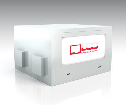 outdoor projector enclosure