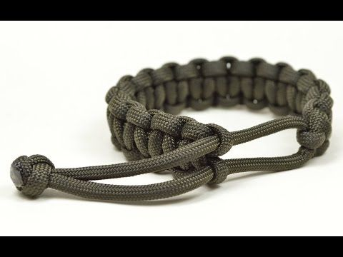 Make a Mad Max Style Paracord Survival Bracelet THE ORIGINAL - Boredparacord.com - YouTube