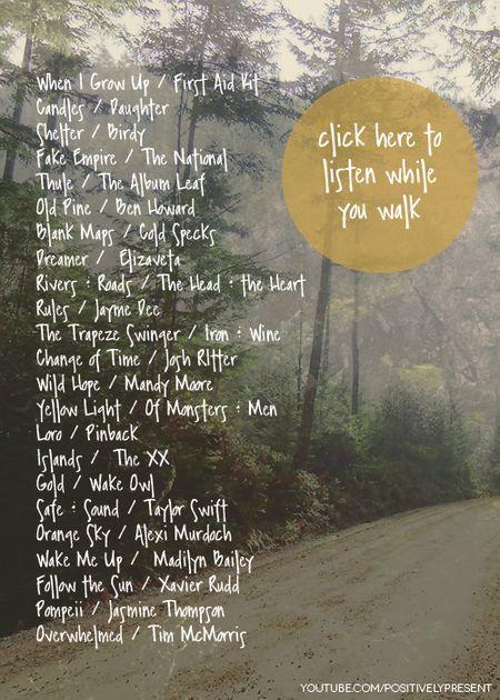 Relaxing Walk Playlist