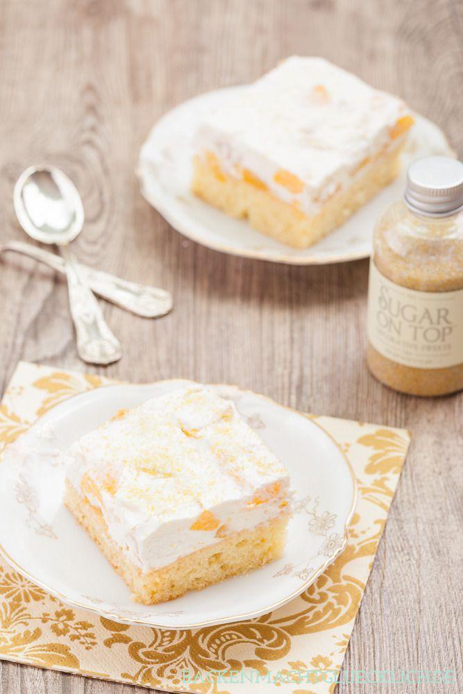 Zur Abwechslung mal ein Modekuchen ;-) . Fantakuchen mit Pfirsichen, gefühlt das einzige Gebäck, bei dem ich gerne Dosenobst verwende.  http://www.backenmachtgluecklich.de/rezepte/fantakuchen.html