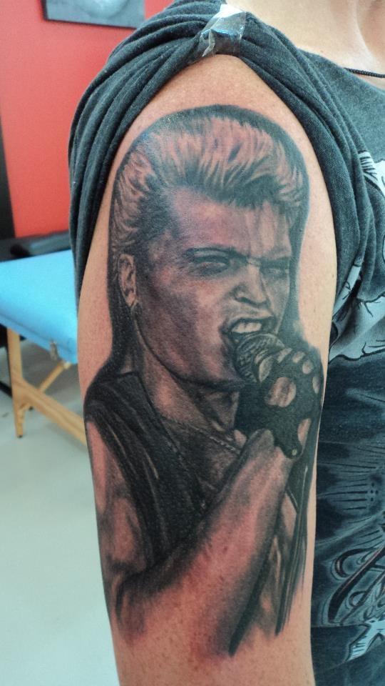 197 best rock star portrait tattoo images on pinterest. Black Bedroom Furniture Sets. Home Design Ideas