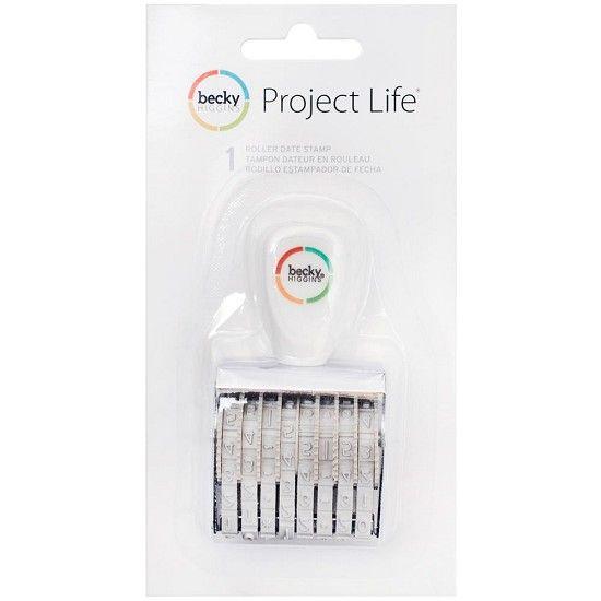 Project Life - Roller Date Stamp HobbyVision- (web)winkel voor scrappen, kaarten en meer!