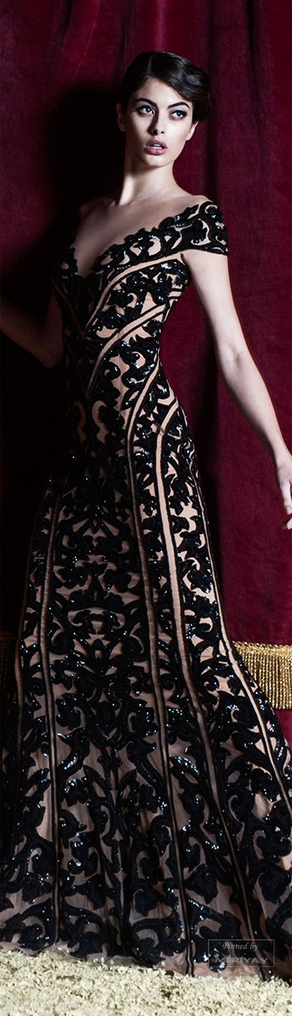 If I had anyplace to wear this..........Zuhair Murad.Pre-Fall 2015.