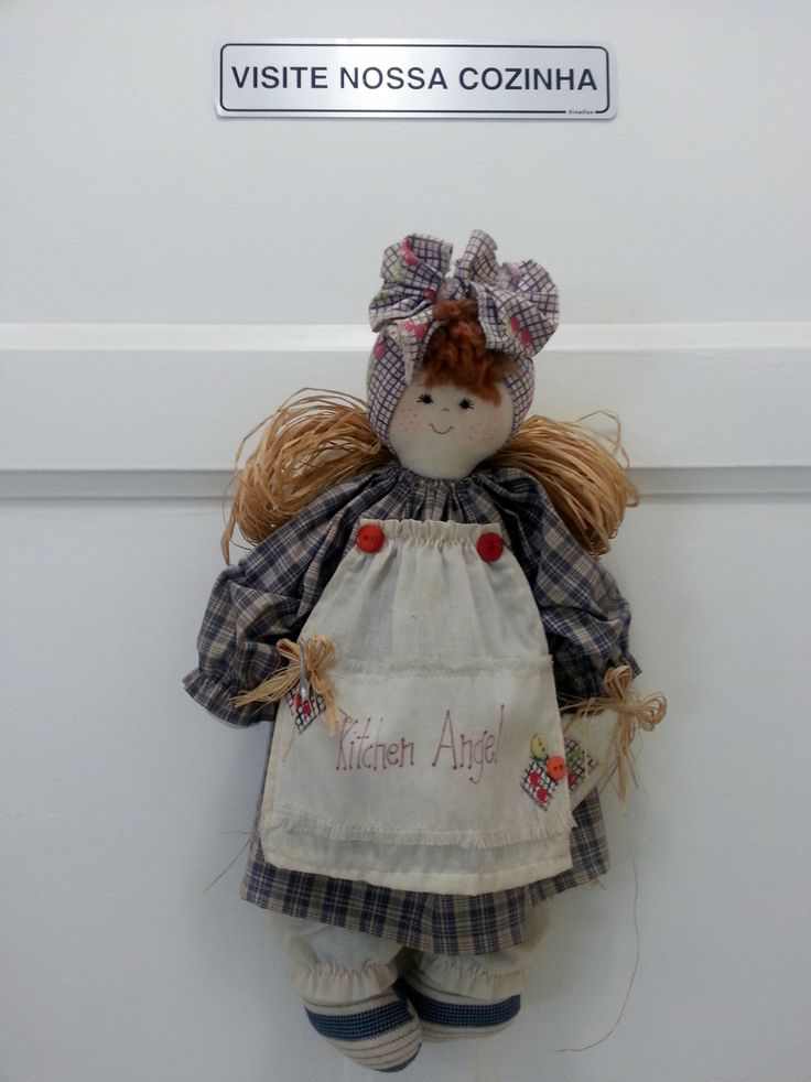 Nossa mascote, a Angelina! Our Kitchen Angel!!