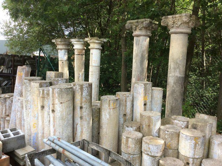 25 beste idee n over stenen zuilen op pinterest veranda berichten veranda kolommen en - Wijnstokken pergola ...