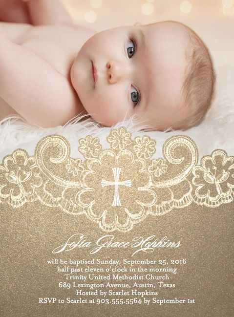 Baptism Invite Rory Michael Pinterest Coloring Baby