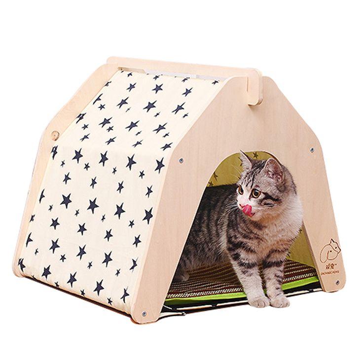 cheap estrella de impresin diseo de mascotas perreras ger verano de madera diy de perro