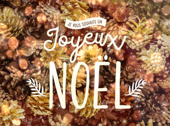 Carte virtuelle gratuite à envoyer pour souhaiter un joyeux Noël à ses proches. http://www.dromadaire.com/cartes-noel