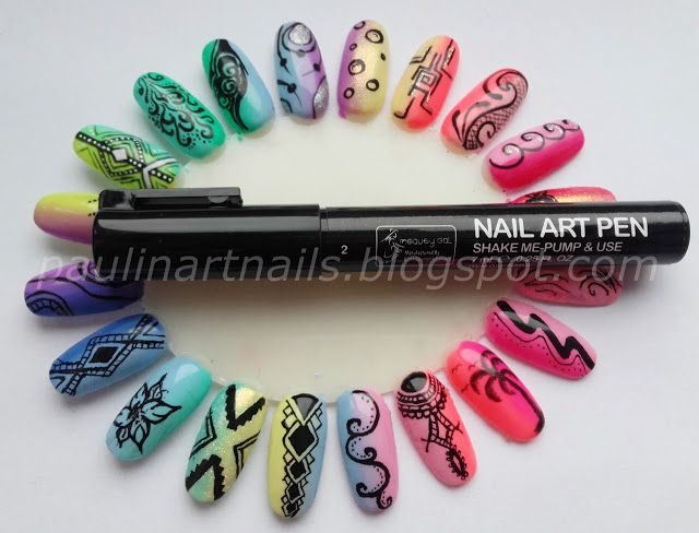25 beautiful nail art pen ideas on pinterest coral nail designs art nails by paulina nail art pen od lady queen shop http prinsesfo Gallery