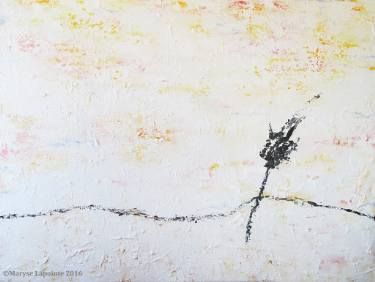 """Saatchi Art Artist Maryse Lapointe; Painting, """"The Silence 2 / Le Silence 2"""" #art,  #art, #oiloncanvas, #abstract, #abstractexpressionism, #riopelle, #georgesmathieu, #artquebecois, #music, #oilpainting, #artistequébécoise, #abstrait, #expressionnismeabstrait, #maryselapointe, #saisons, #seasons, #dekooning, #borduas, #automatisme,  #tableauàl'huile, #winter, #hiver, #lepetitprince, #silence, #maryselapointe.net, http://maryselapointe.net/"""