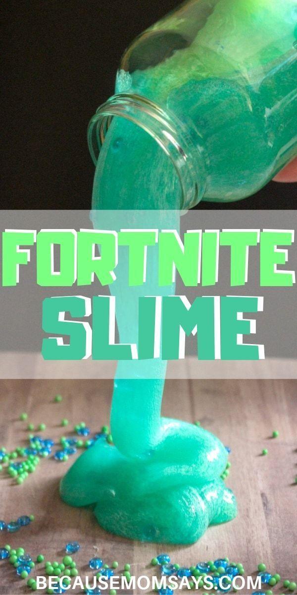 Fortnite Slime Slurp Juice Easy Crafts To Make Slime For Kids
